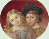 Portrait of V. M. Repnin's children